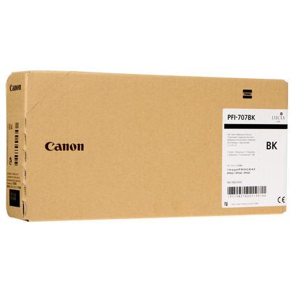 Canon PFI-707BK 9821B001 Original Black Ink Cartridge