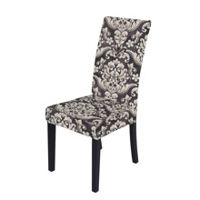 Funda de silla elastica con patron vintage
