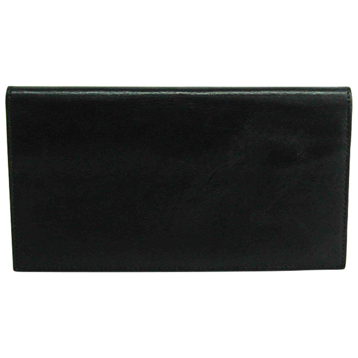 Hermès N Black Leather wallet for Women N