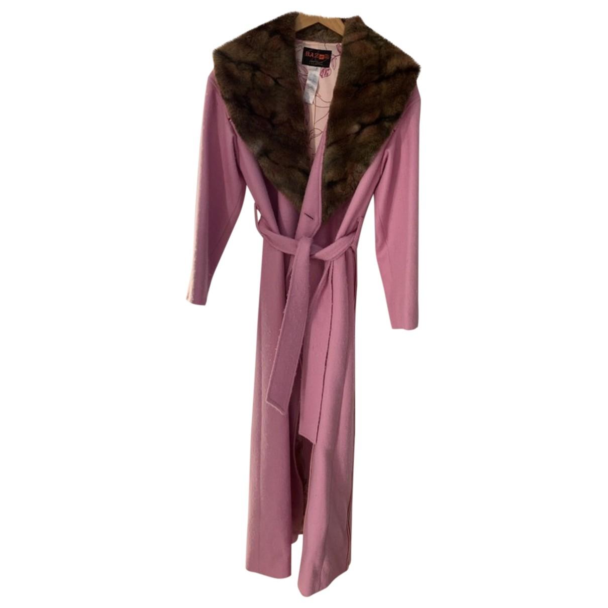 Christian Lacroix - Manteau   pour femme en laine - rose