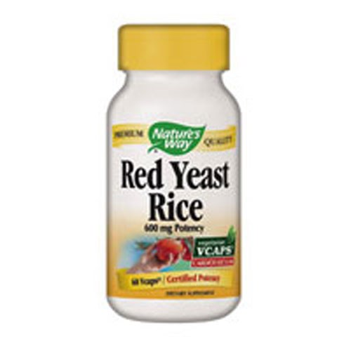 Red Yeast Rice Veg Caps, 60 Vcap by Nature's Way