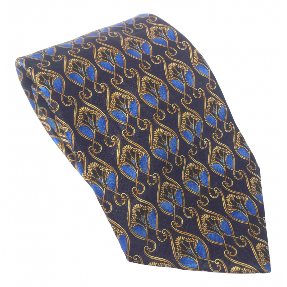 Lanvin \N Blue Silk Ties for Men \N