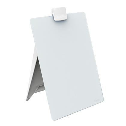 Quartet® Chevalet de bureau en verre effaçable à sec, 9