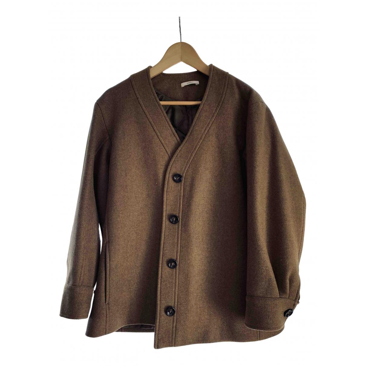 Sessun - Manteau   pour homme en laine - marron