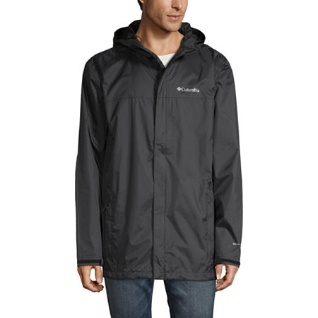 Columbia Sportswear Co. Waterproof Lightweight Raincoat, Medium , Black