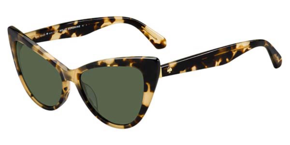 Kate Spade Karina/S 086/QT Women's Sunglasses Tortoise Size 56