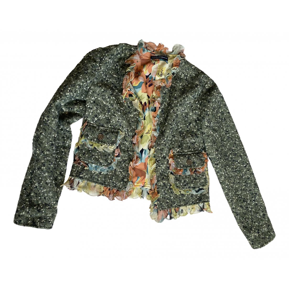 Dolce & Gabbana N Linen jacket for Women 42 IT