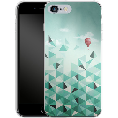 Apple iPhone 6 Plus Silikon Handyhuelle - Emerald City von Little Clyde