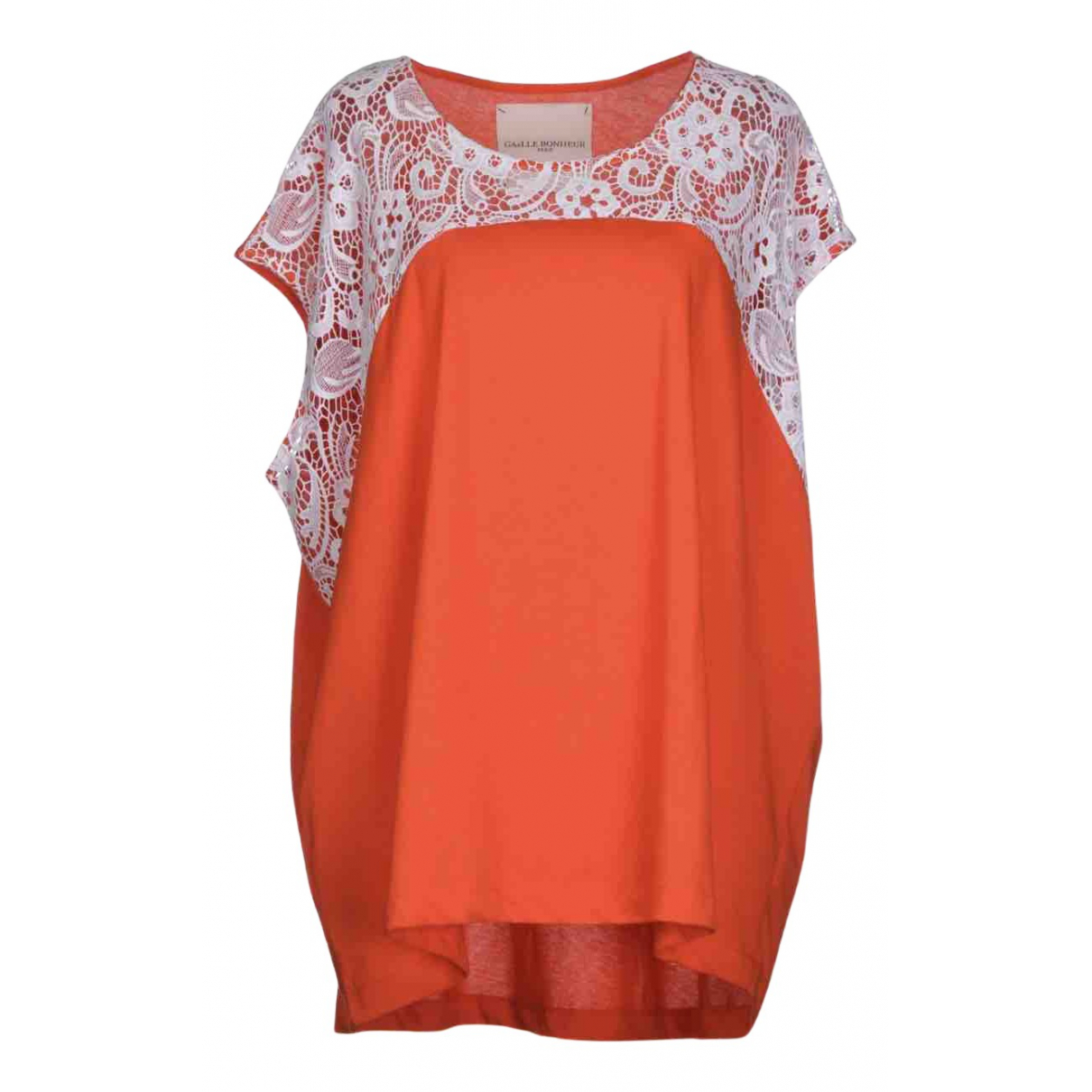 Gaelle Paris N Red Cotton  top for Women 1 0-5