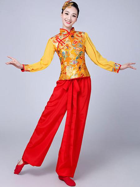 Milanoo Disfraz Halloween Disfraces chinos de mujer Disfraces de carnaval asiaticos Traje de baile de traje Tang Carnaval Halloween