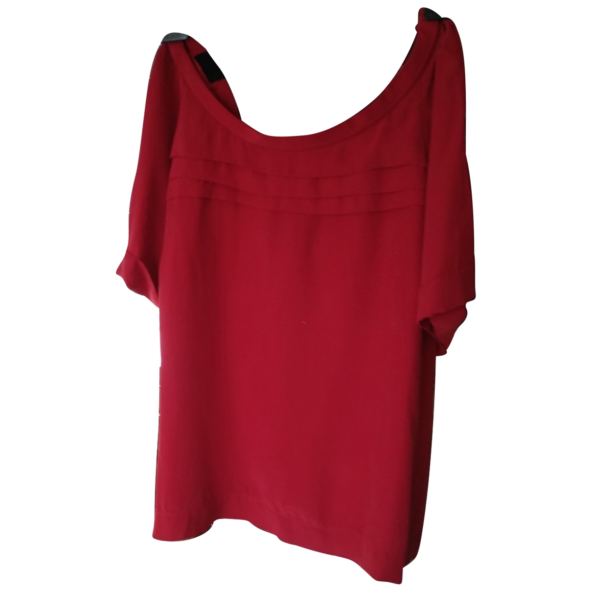 Sandro \N Red Silk  top for Women 3 0-5
