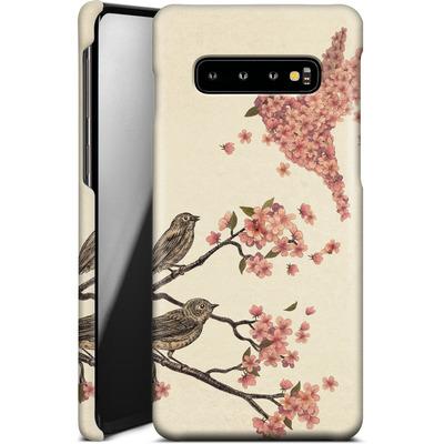 Samsung Galaxy S10 Plus Smartphone Huelle - Blossom Bird von Terry Fan