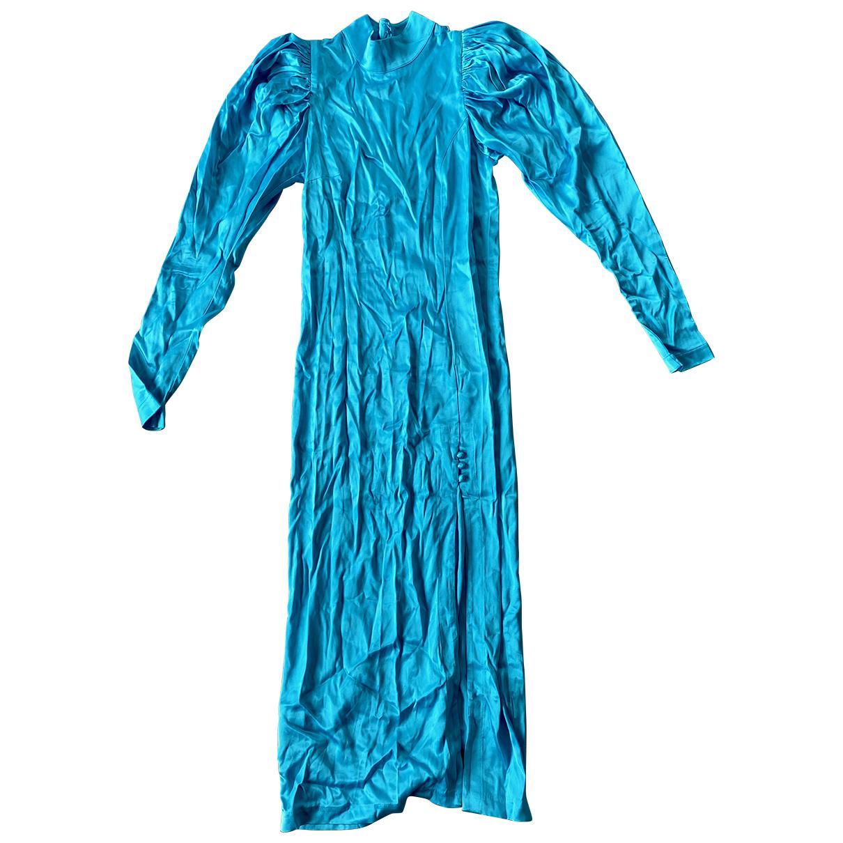 Rotate \N Kleid in  Blau Viskose