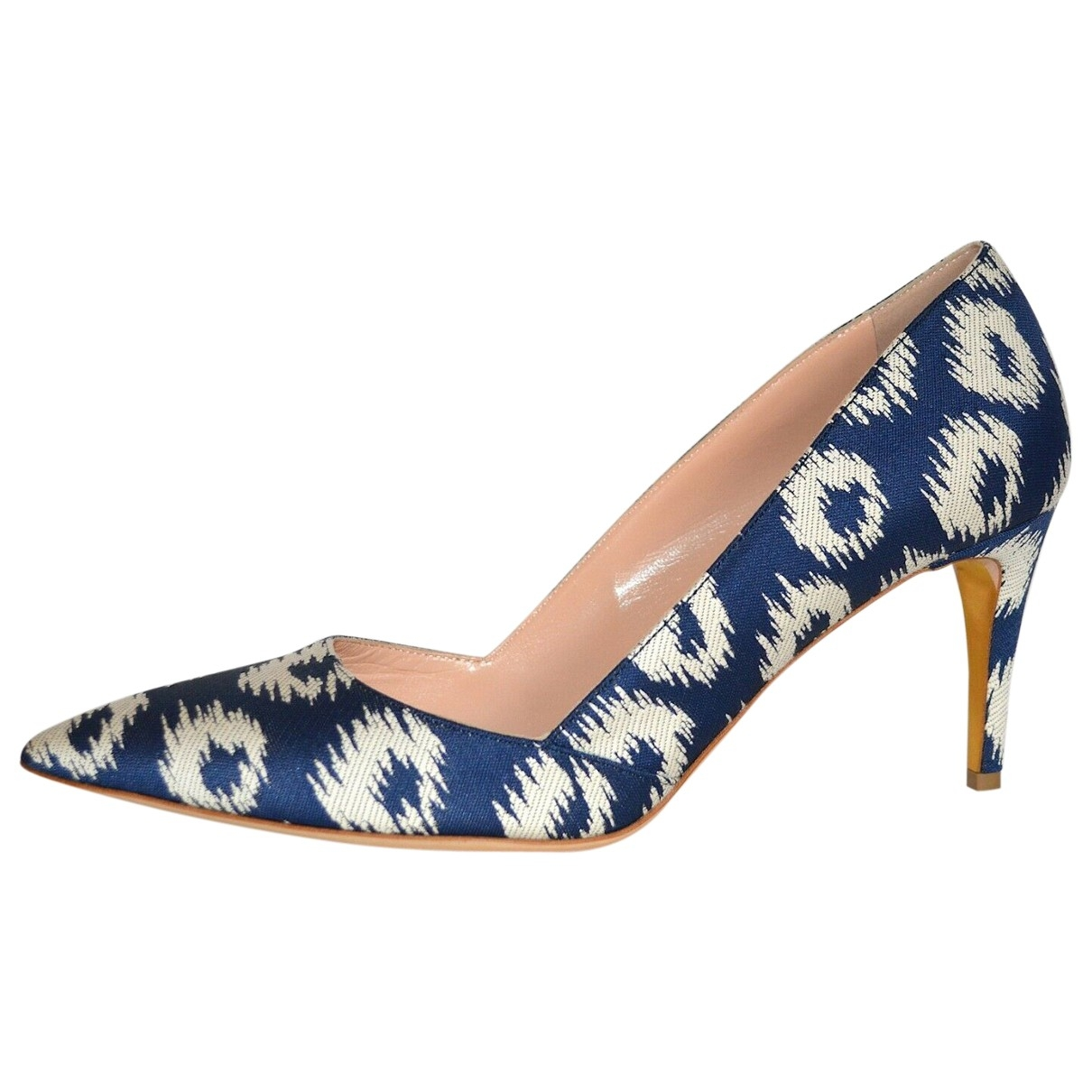 Rupert Sanderson \N Blue Cloth Heels for Women 40.5 EU