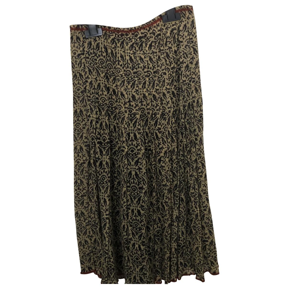 Jean Paul Gaultier N Multicolour Wool skirt for Women S International
