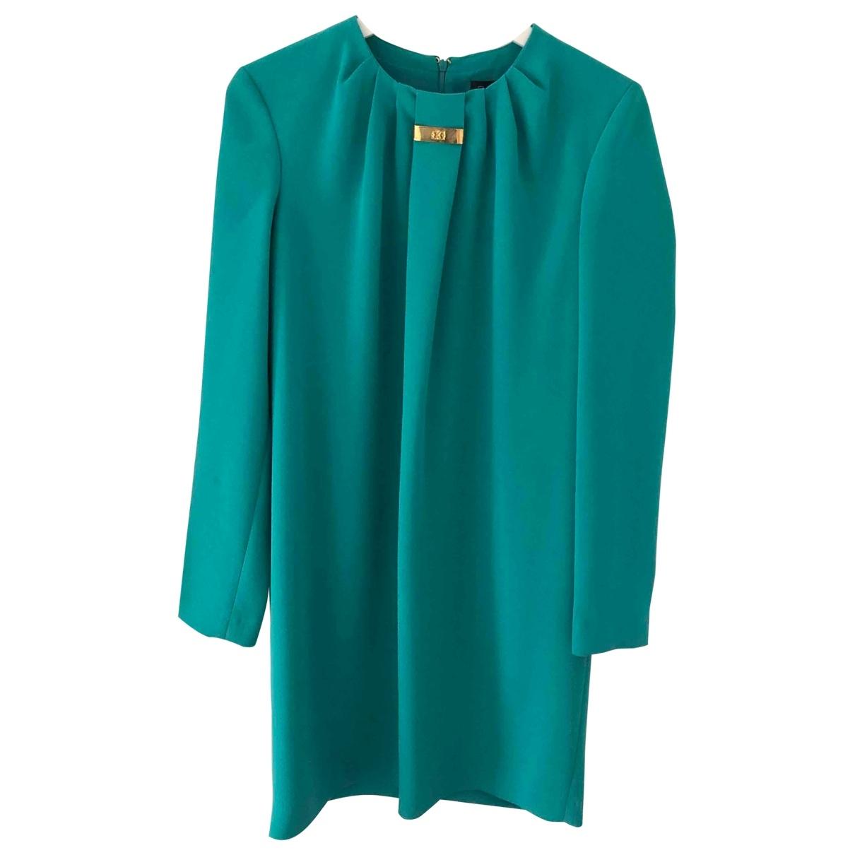 Class Cavalli \N Kleid in  Tuerkis Polyester
