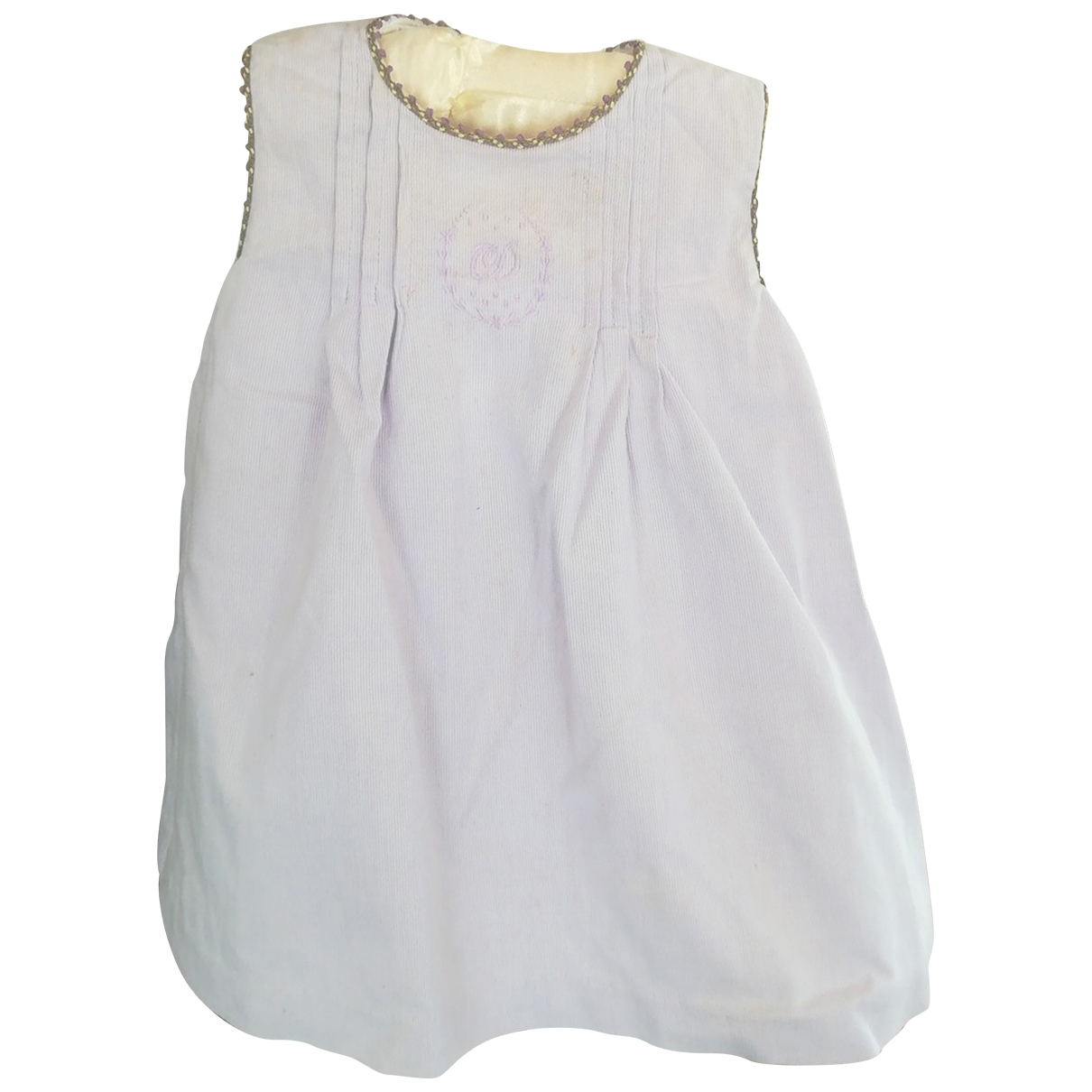 Baby Dior - Robe    pour enfant en coton - violet