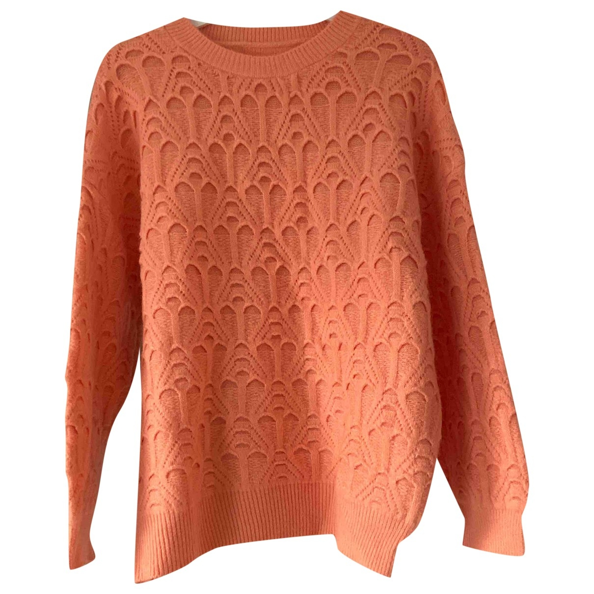 Non Signe / Unsigned \N Pullover in  Orange Synthetik