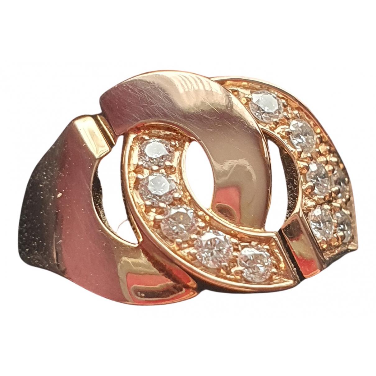 Dinh Van - Bague Menottes  pour femme en or rose - rose