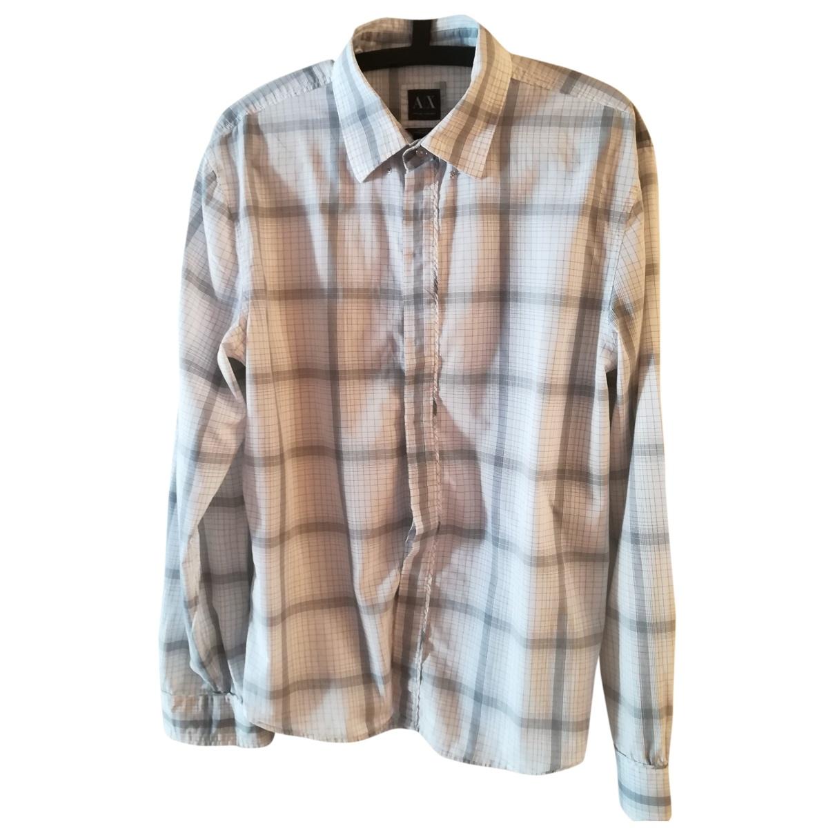 Emporio Armani \N Hemden in  Weiss Baumwolle