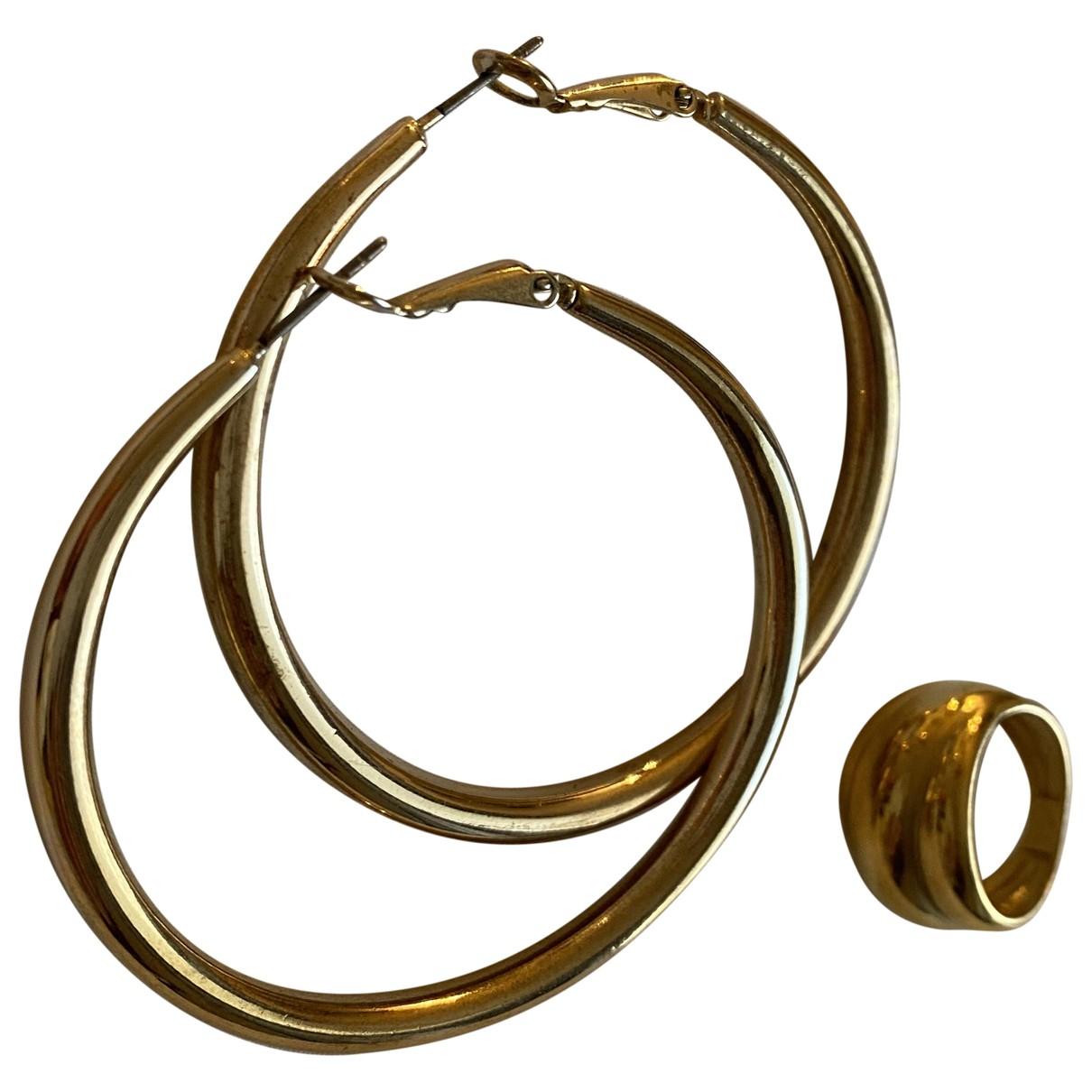 Zara - Parure   pour femme en metal - dore