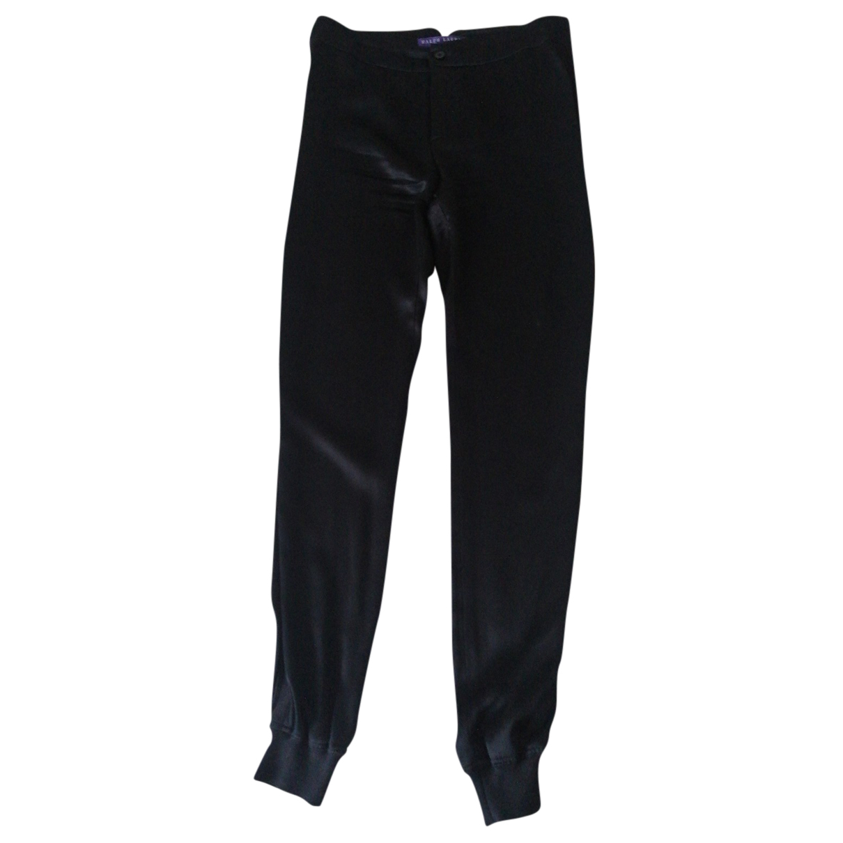 Ralph Lauren Collection N Black Silk Trousers for Women 4 US