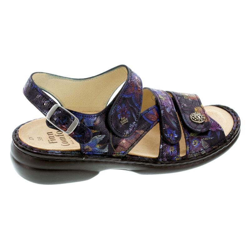 Finn Comfort Gomera Dark Blue Leather Soft Footbed 36