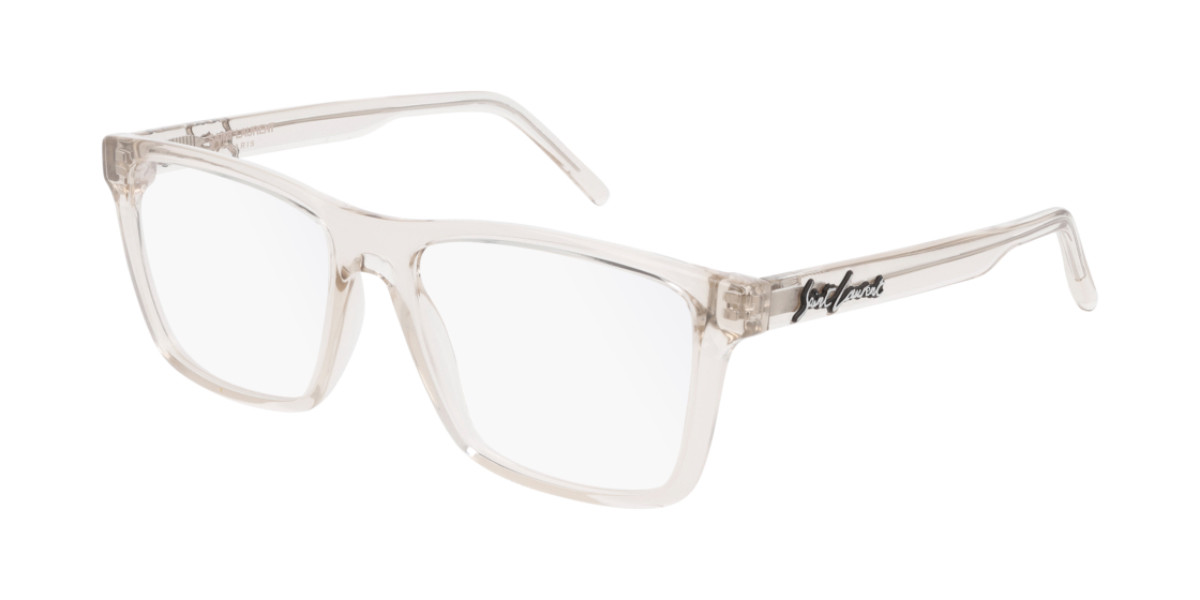Saint Laurent SL 337 005 Men's Glasses Brown Size 55 - Free Lenses - HSA/FSA Insurance - Blue Light Block Available