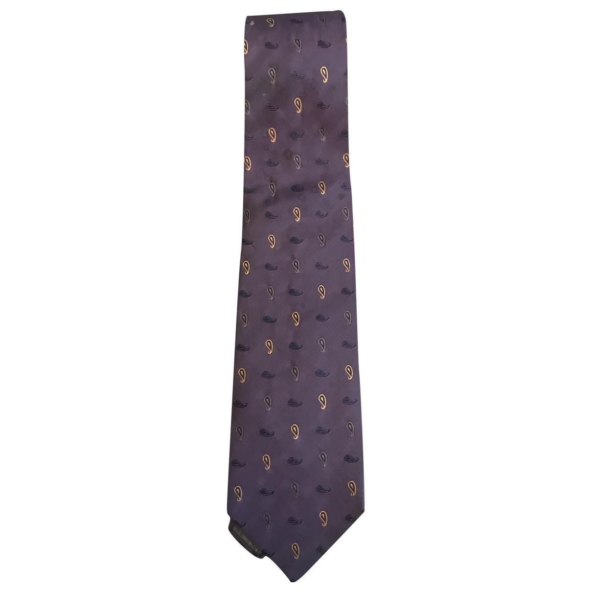 Jm Weston - Cravates   pour homme en soie - violet