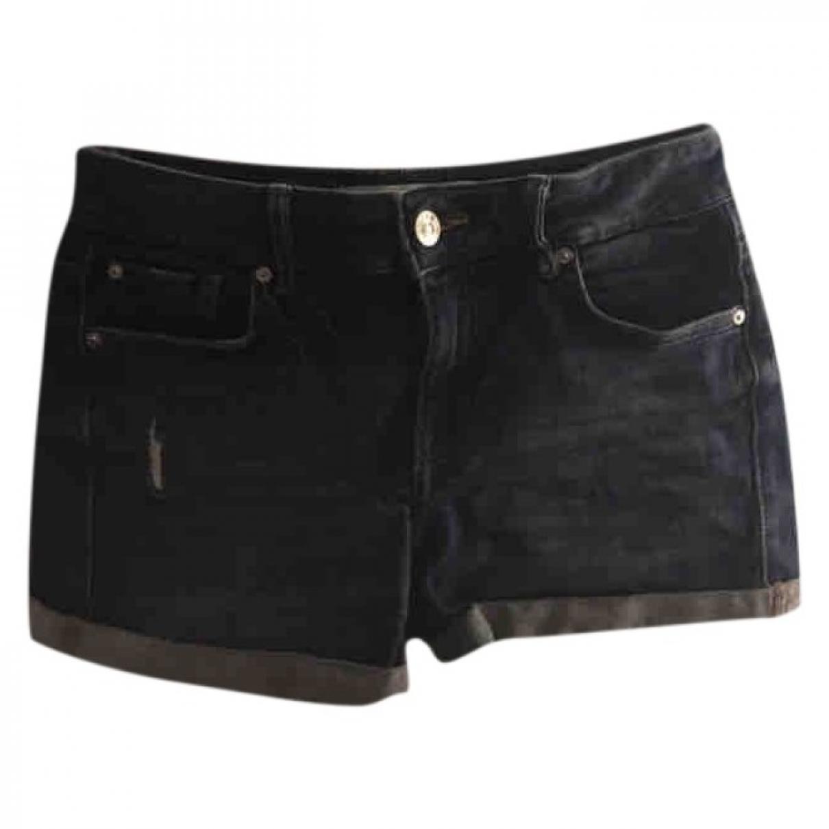 Mango \N Blue Denim - Jeans Shorts for Women 34 FR