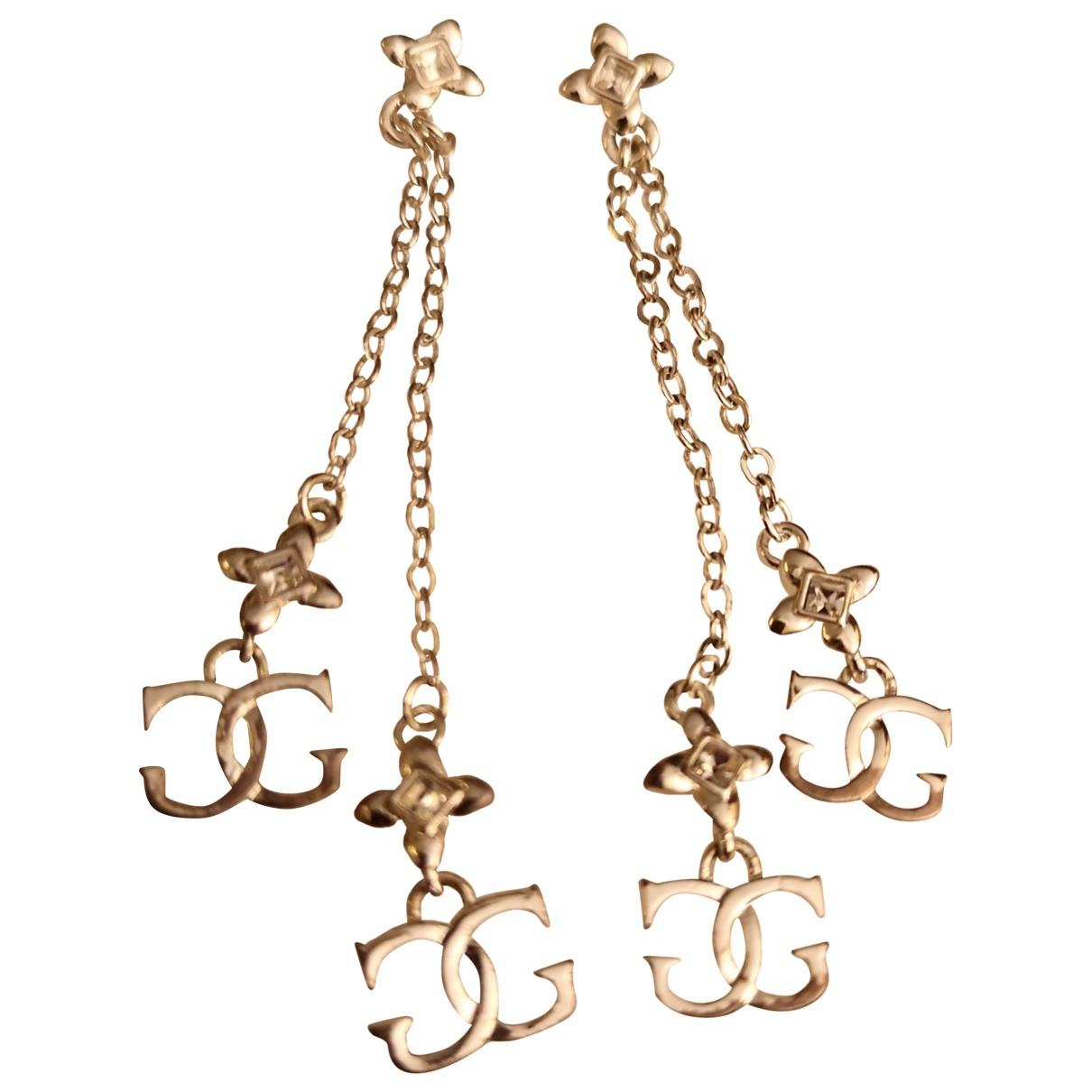 Guess \N Silver Metal Earrings for Women \N