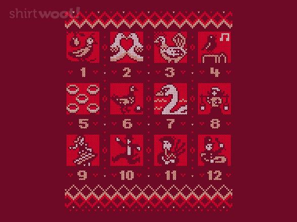 Twelve Days T Shirt