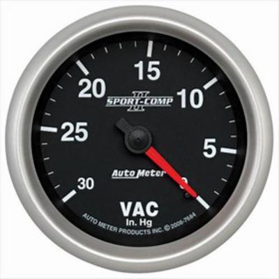 Auto Meter Sport-Comp Vacuum Gauge inHg - 7684