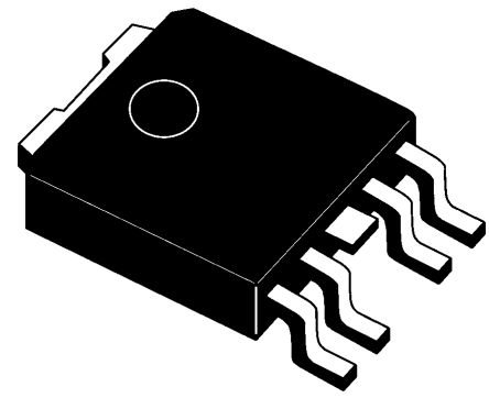STMicroelectronics VN751PT High Side MOSFET Power Driver, 2.5A 5-Pin, PPAK (2)