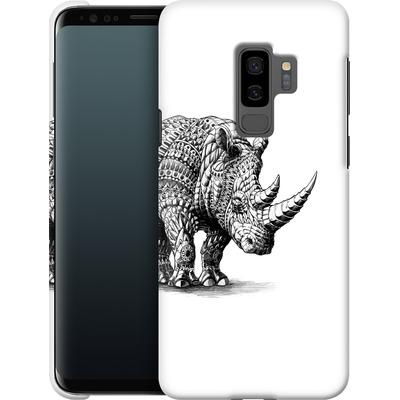 Samsung Galaxy S9 Plus Smartphone Huelle - Rhinoceros von BIOWORKZ