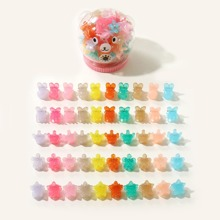 50pcs Girls Colorful Hair Claw