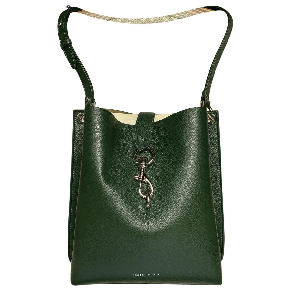 Rebecca Minkoff \N Green Leather handbag for Women \N