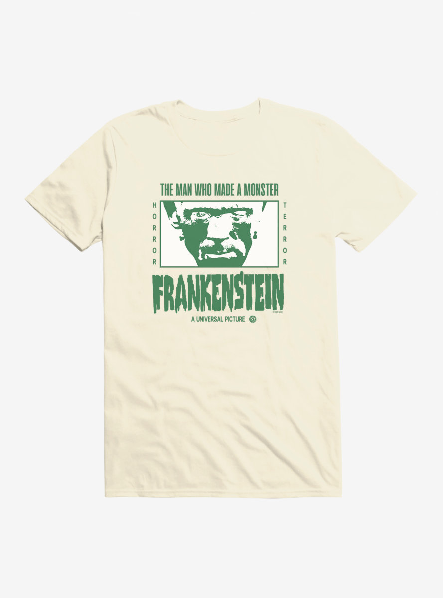 Universal Monsters Frankenstein Horror Terror T-Shirt