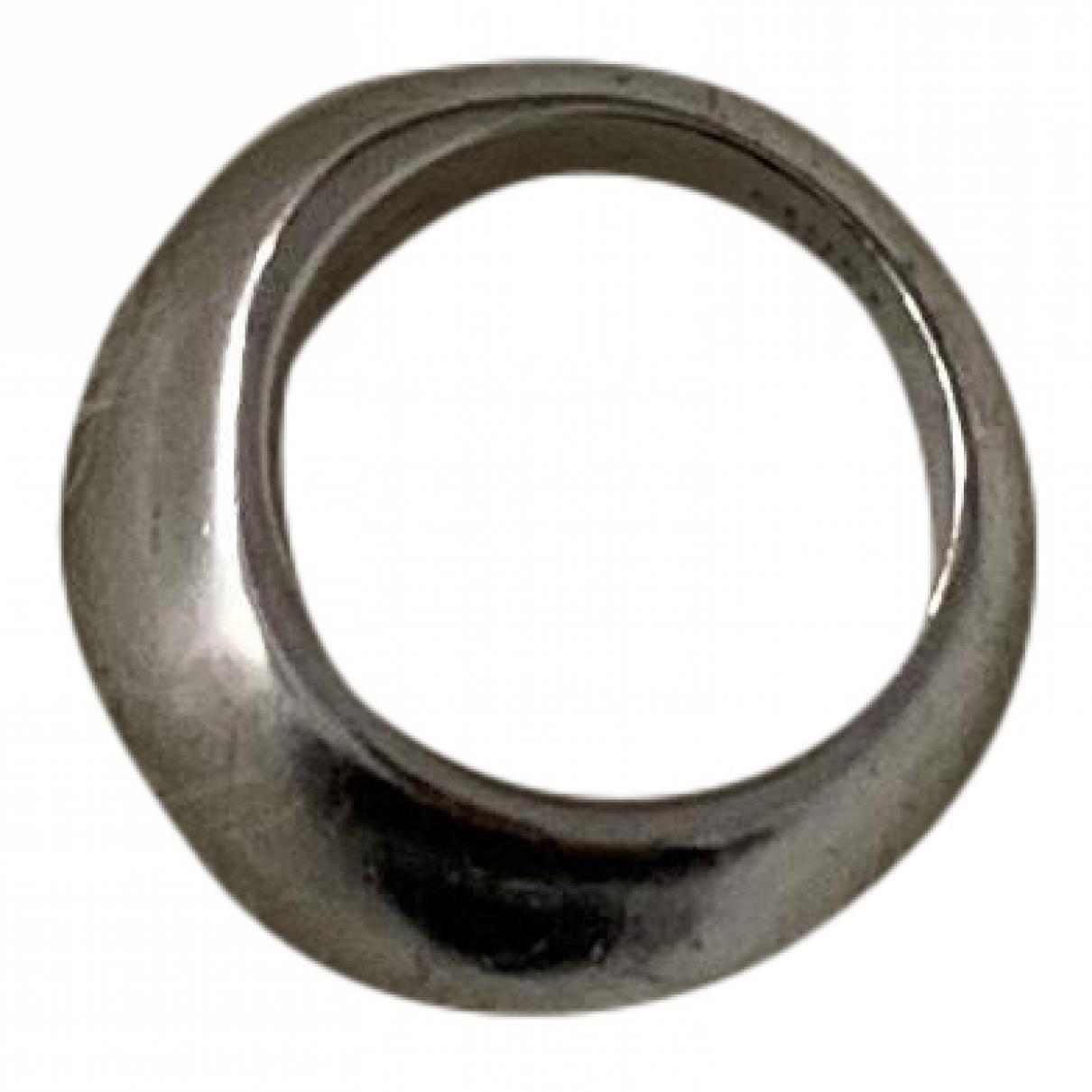 Celine \N Ring in  Silber Metall