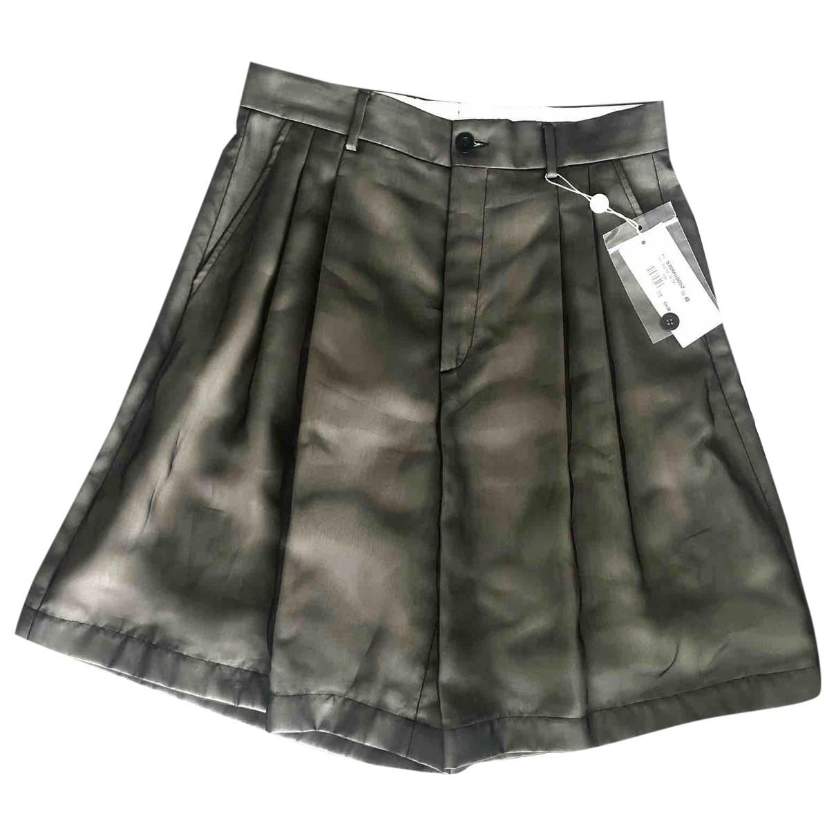 Maison Martin Margiela \N Khaki Shorts for Men 48 IT