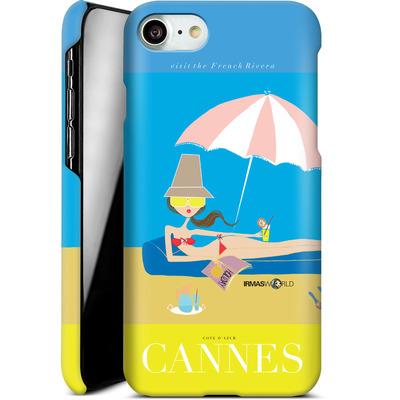 Apple iPhone 7 Smartphone Huelle - CANNES TRAVEL POSTER von IRMA