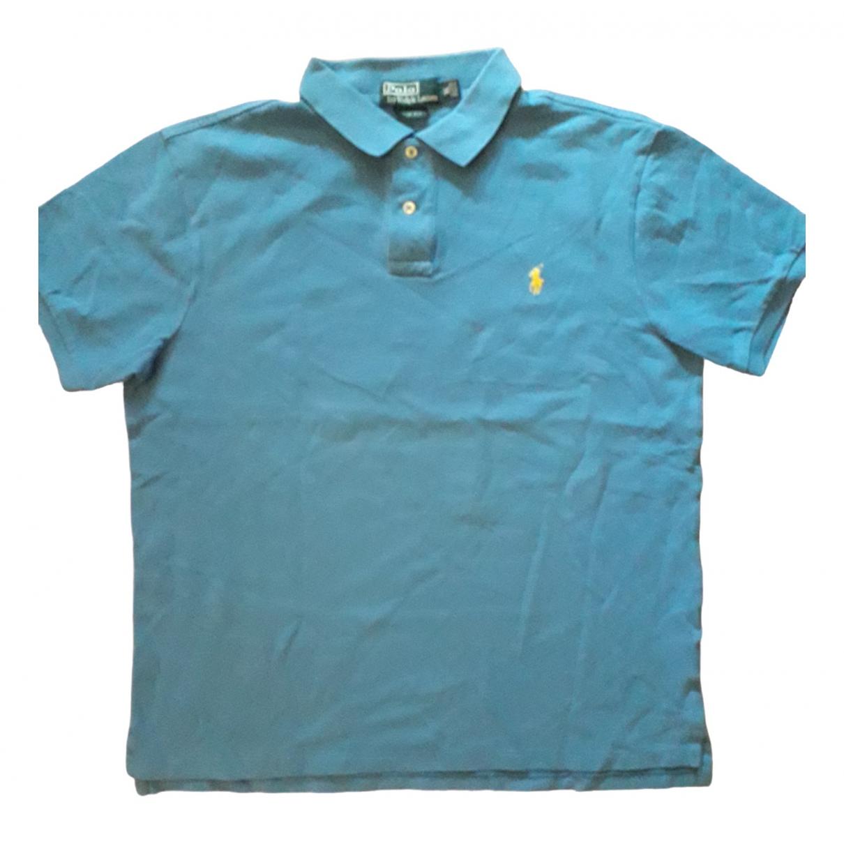 Polo Polo ajuste manches courtes en Algodon Azul Polo Ralph Lauren