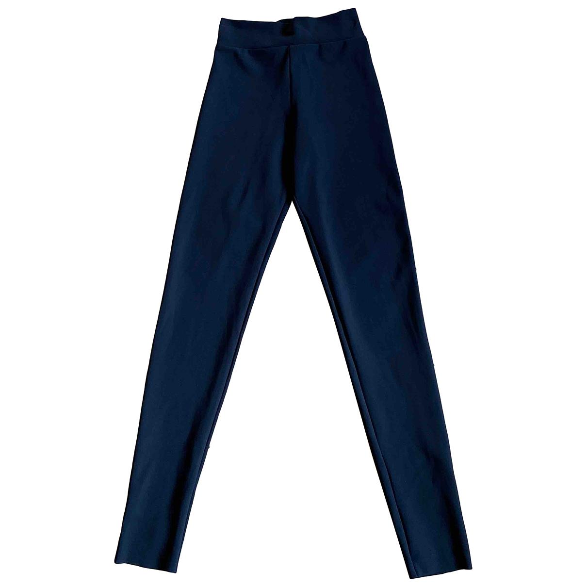Chiara Boni \N Black Trousers for Women 40 IT