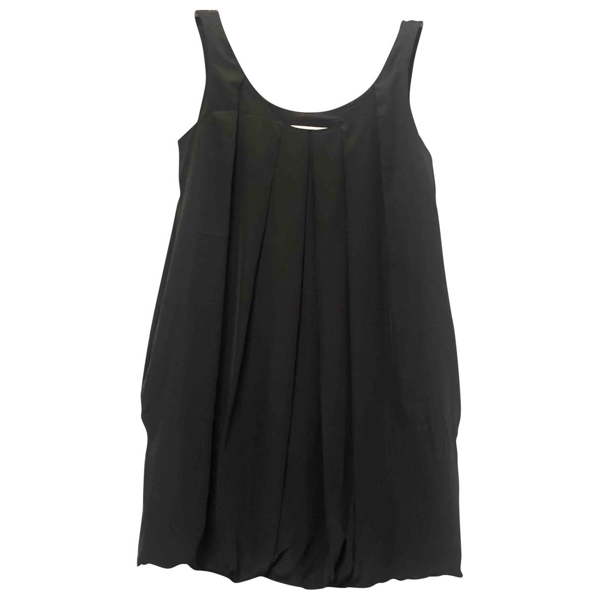 Sara Berman \N Kleid in  Schwarz Seide