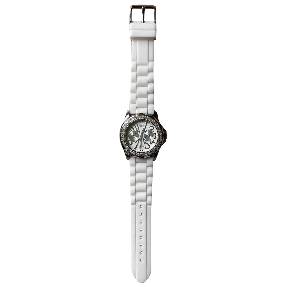 Guess \N White Steel watch for Women \N