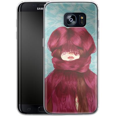 Samsung Galaxy S7 Edge Silikon Handyhuelle - Cold von Marcos Chin