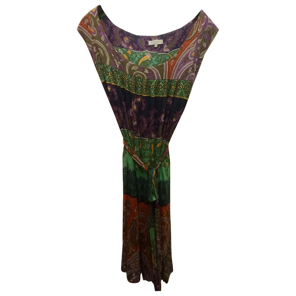 Etro \N Multicolour dress for Women 46 IT