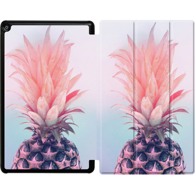 Amazon Fire HD 10 (2017) Tablet Smart Case - Pastel Pineapple von Emanuela Carratoni
