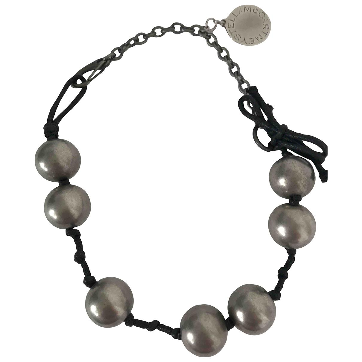 Stella Mccartney - Collier   pour femme en acier - gris