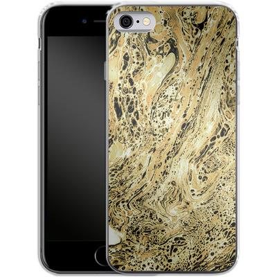 Apple iPhone 6 Silikon Handyhuelle - Marbled Sand von Amy Sia